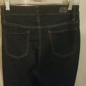 Jeans - Super cute high rise skinny jeans in dark wash